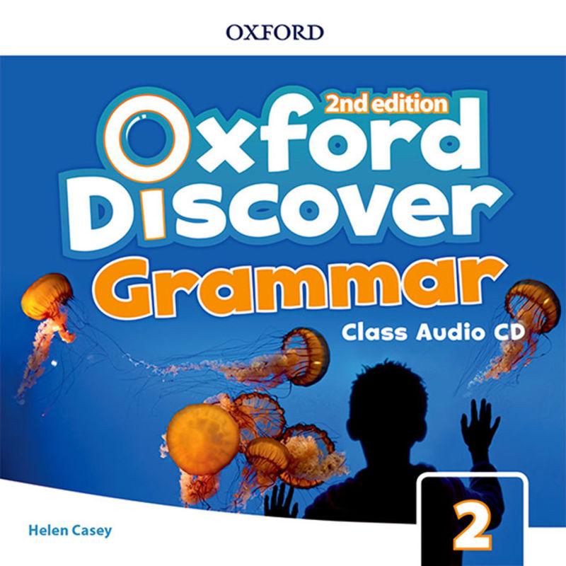 (2 ED) DISCOVER GRAMMAR 2 CLASS AUDIO-CD