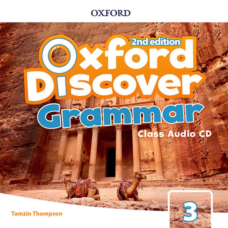 (2 ED) DISCOVER GRAMMAR 3 CLASS AUDIO-CD