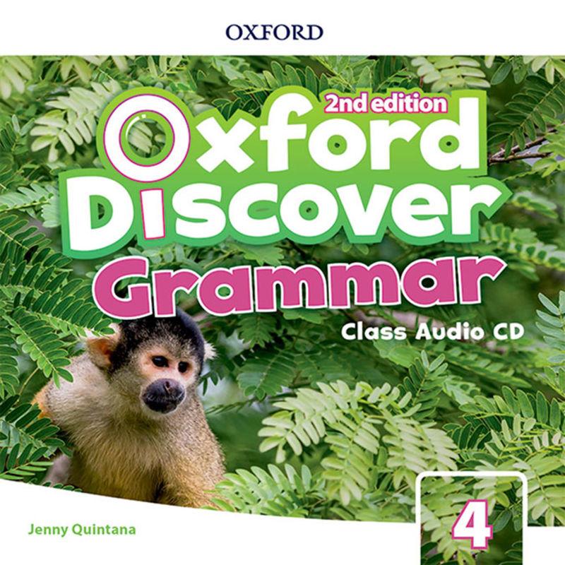 (2 ED) OXF DISCOVER GRAMMAR 4 CLASS AUDIO-CD