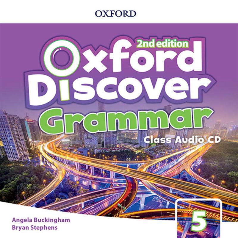(2 ED) DISCOVER GRAMMAR 5 CLASS AUDIO-CD