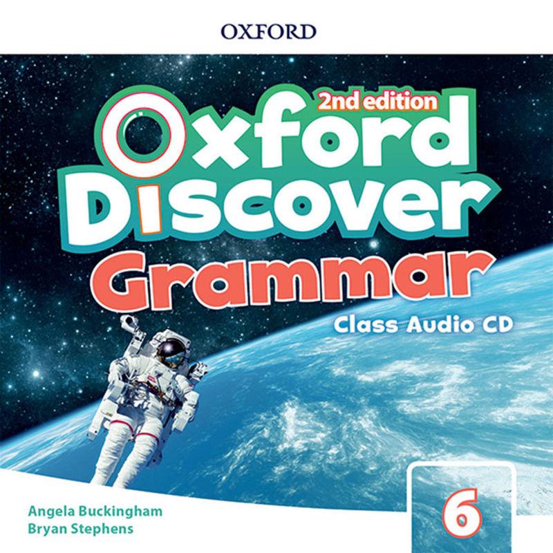 (2 ED) DISCOVER GRAMMAR 6 CLASS AUDIO-CD