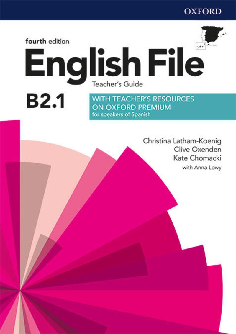 (4 ED) ENGLISH FILE INTERM PLUS B2.1 TCH+TRC PACK
