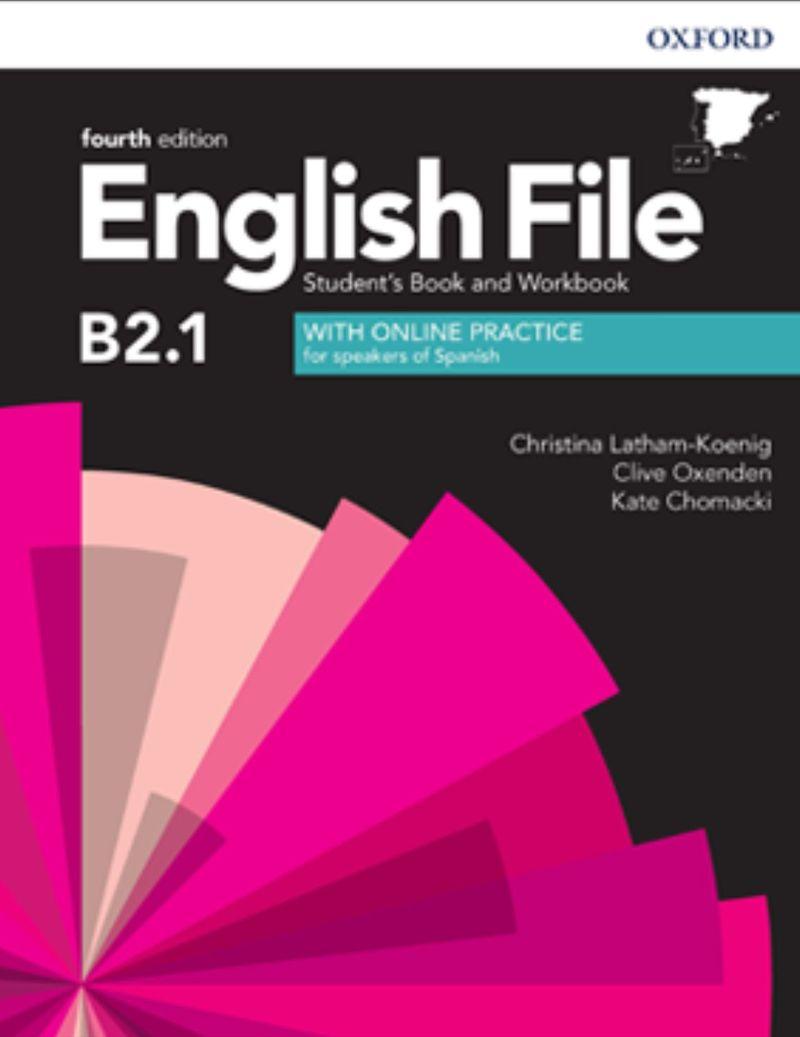 (4 ED) ENGLISH FILE INTERM PLUS B2.1 (+WB) W / KEY