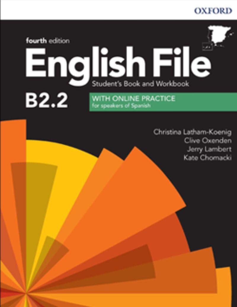 (4 ED) ENGLISH FILE UPPER-INTERM B2.2 (+WB) W / KEY