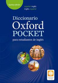 (5 Ed) Dicc Oxf Pocket Esp-Ing / Ing-Esp - Aa. Vv.