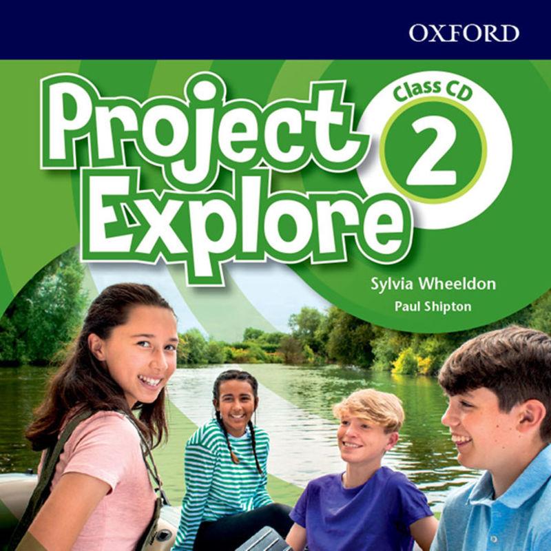 PROJECT EXPLORE 2 CLASS AUDIO-CD (2)