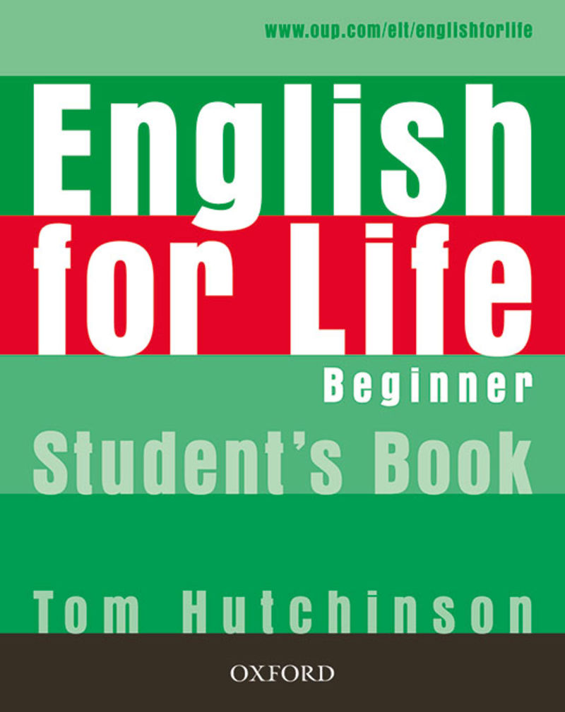 ENGLISH FOR LIFE BEGINNER