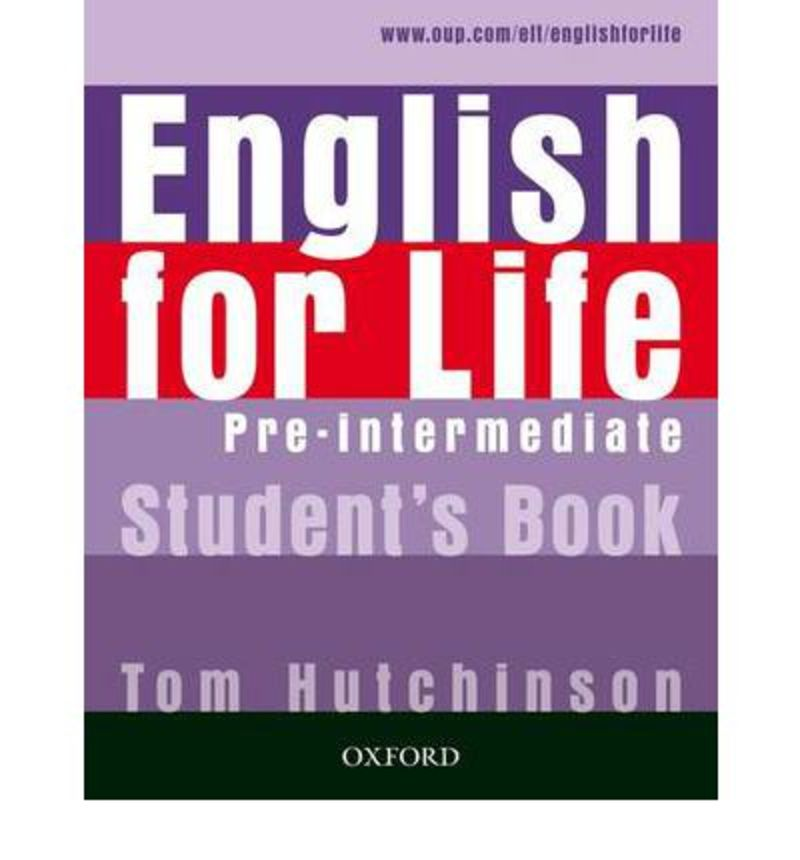 ENGLISH FOR LIFE PRE-INTERME