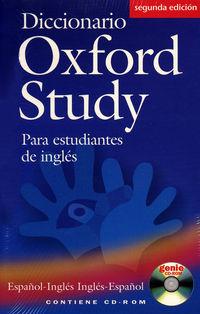 OXF STUDY INTERACT (+CD-ROM) PACK (2ª ED)
