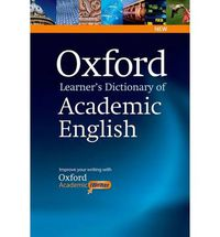 OXF LEARNER'S DICTIONARY OF ACADEMIC ENGLISH (+CD-ROM)