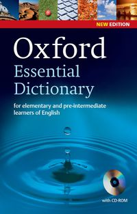 NEW OXF ESSENTIAL DICTIONARY (+CD)