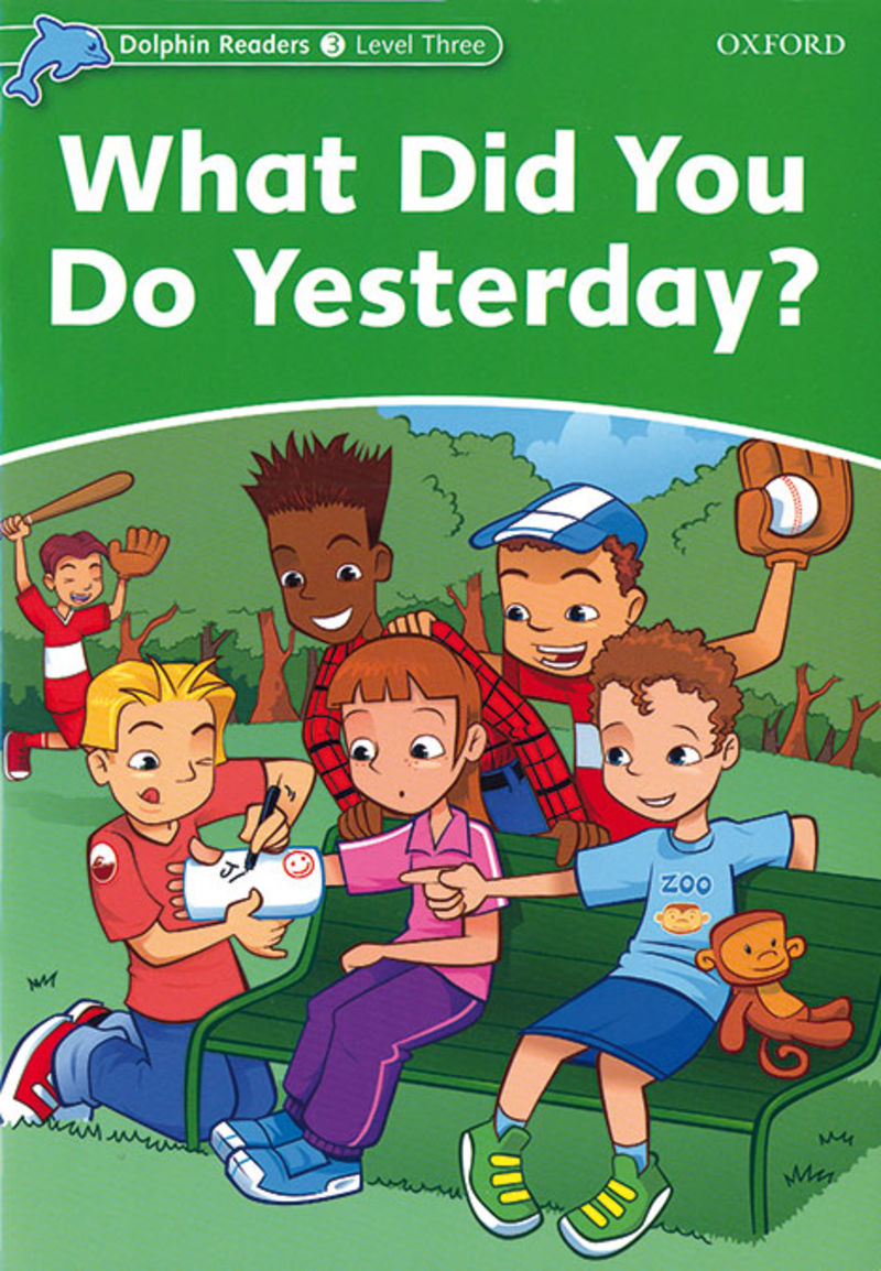 Dr3 - Dolphin Read 3 What Did You Do Yesterday? - Aa. Vv.