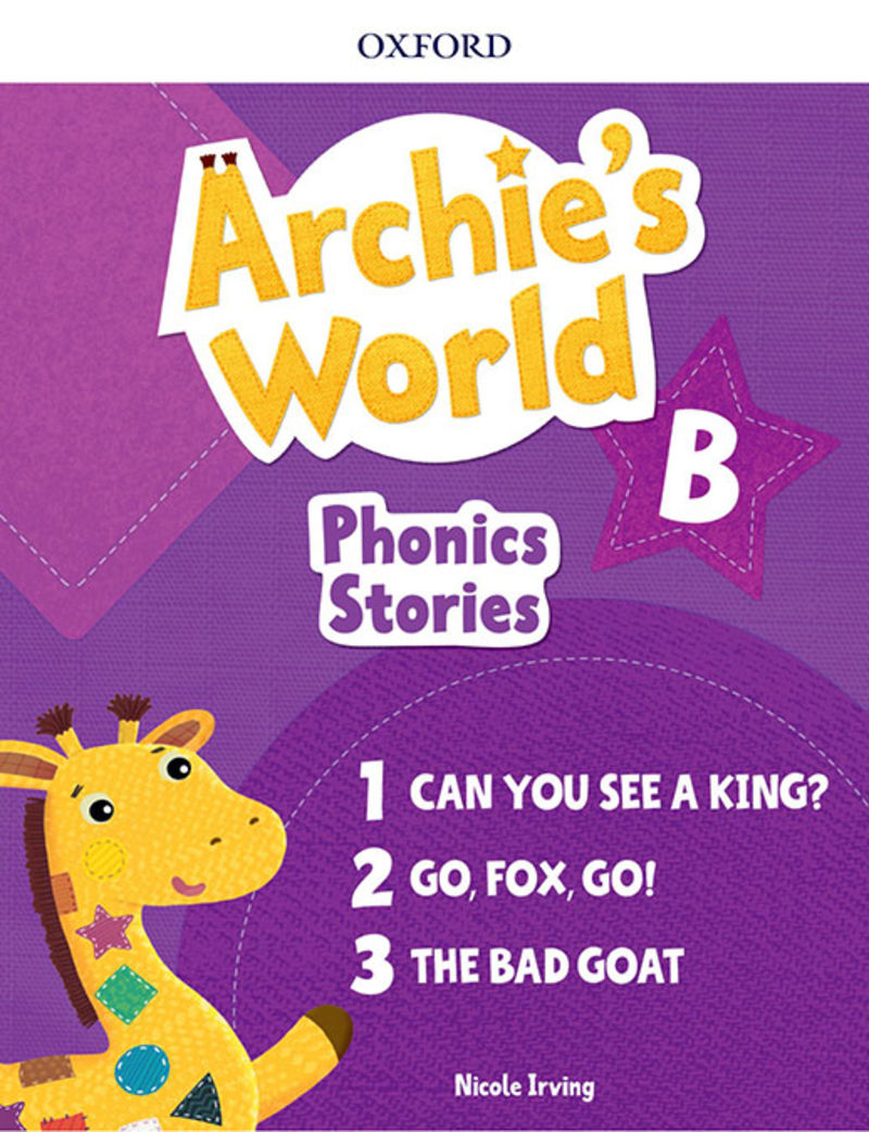 ARCHIE'S WORLD B PHONICS READERS PACK