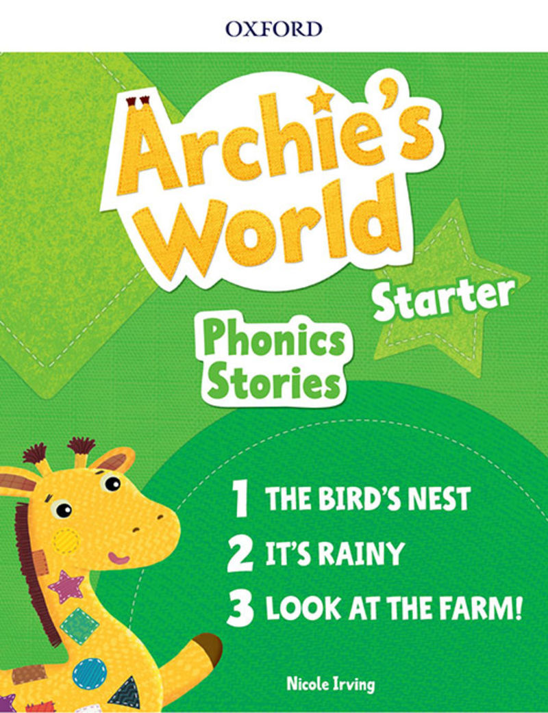 ARCHIE'S WORLD PHONICS READERS PACK