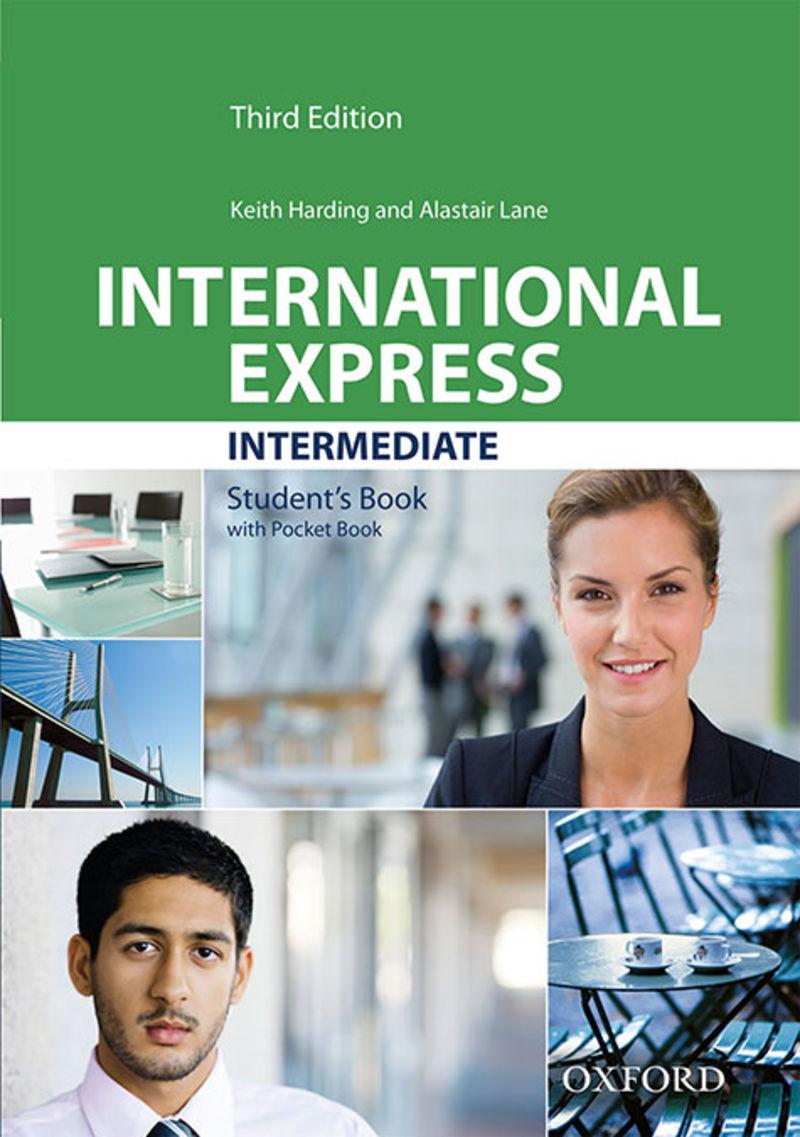 (3 ED) INTERNATIONAL EXPRESS INTERM (+DVD) (PACK)