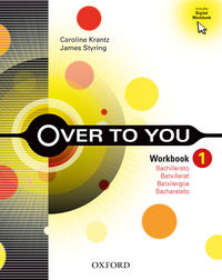 BACH 1 - OVER TO YOU WB (PACK) (CAT)