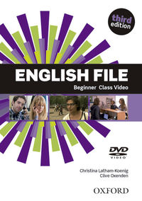 ENGLISH FILE BEGINNER (DVD) (3 ED)