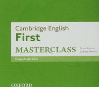 CAMBRIDGE FIRST CERTIFICATE MASTERCLASS CLASS (2 CD)