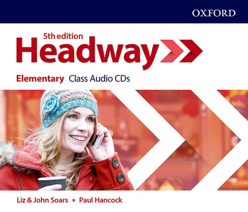 (5 ED) HEADWAY ELEM CLASS AUDIO-CD