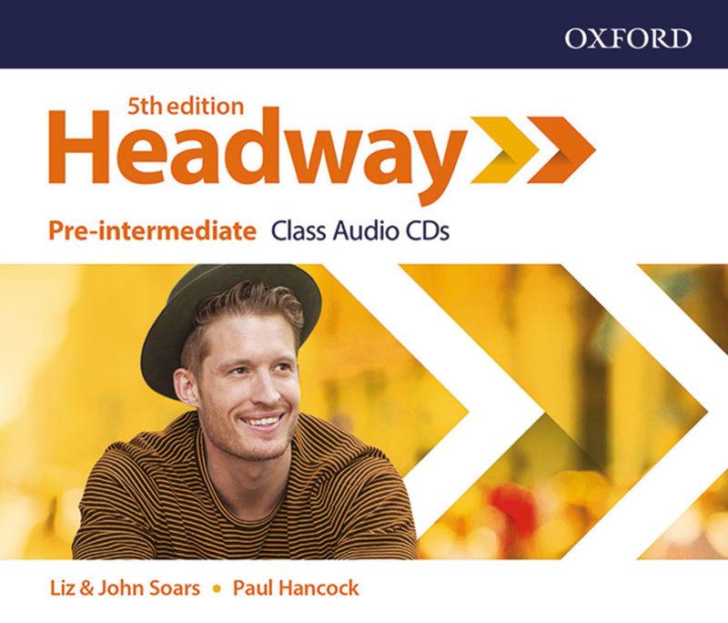 (5 ED) HEADWAY PRE-INTERM CLASS AUDIO-CD