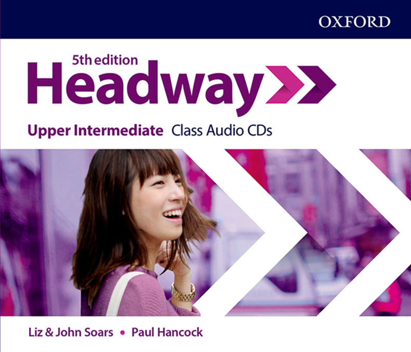 (5 ED) HEADWAY UPPER-INTERM CLASS AUDIO-CD