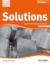 Eso 4 - Solutions Upper-Interm Wb (+cd) (2 Ed) - Aa. Vv.