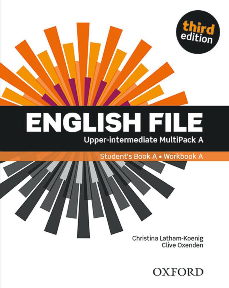 (3 ED) ENGLISH FILE UPPER-INTERM B2.2 MULTIPACK A