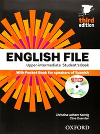ENGLISH FILE UPPER-INTERM (+ITUTOR) (3 ED)