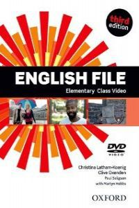 ENGLISH FILE ELEM (DVD) (3 ED)