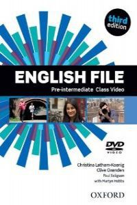 ENGLISH FILE PRE-INTERM (DVD) (3 ED)