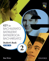 BACH 2 - KEY TO BACHILLERATO WB (PACK) (CAT)
