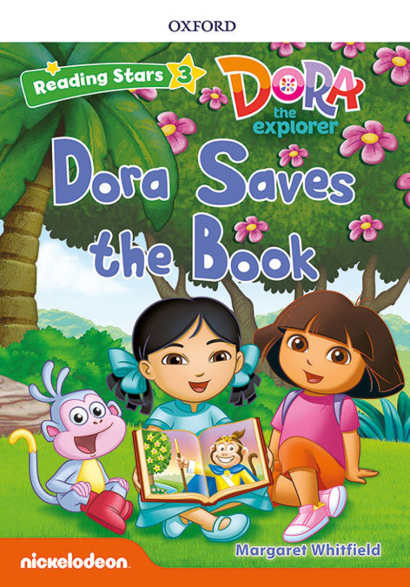 RS 3 - DORA SAVES THE BOOK MP3 PACK