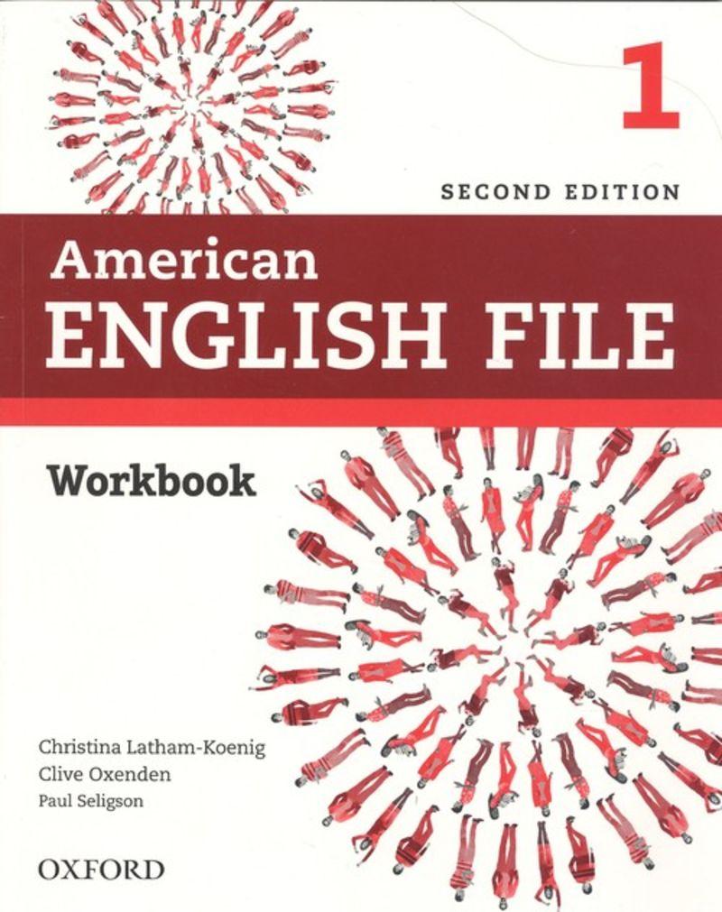 (2 ED) AMERICAN ENGLISH FILE 1 WB W / O KEY