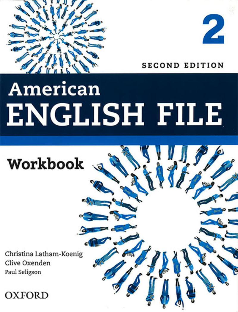 (2 Ed) American English File 2 Wb W / O Key - Aa. Vv.