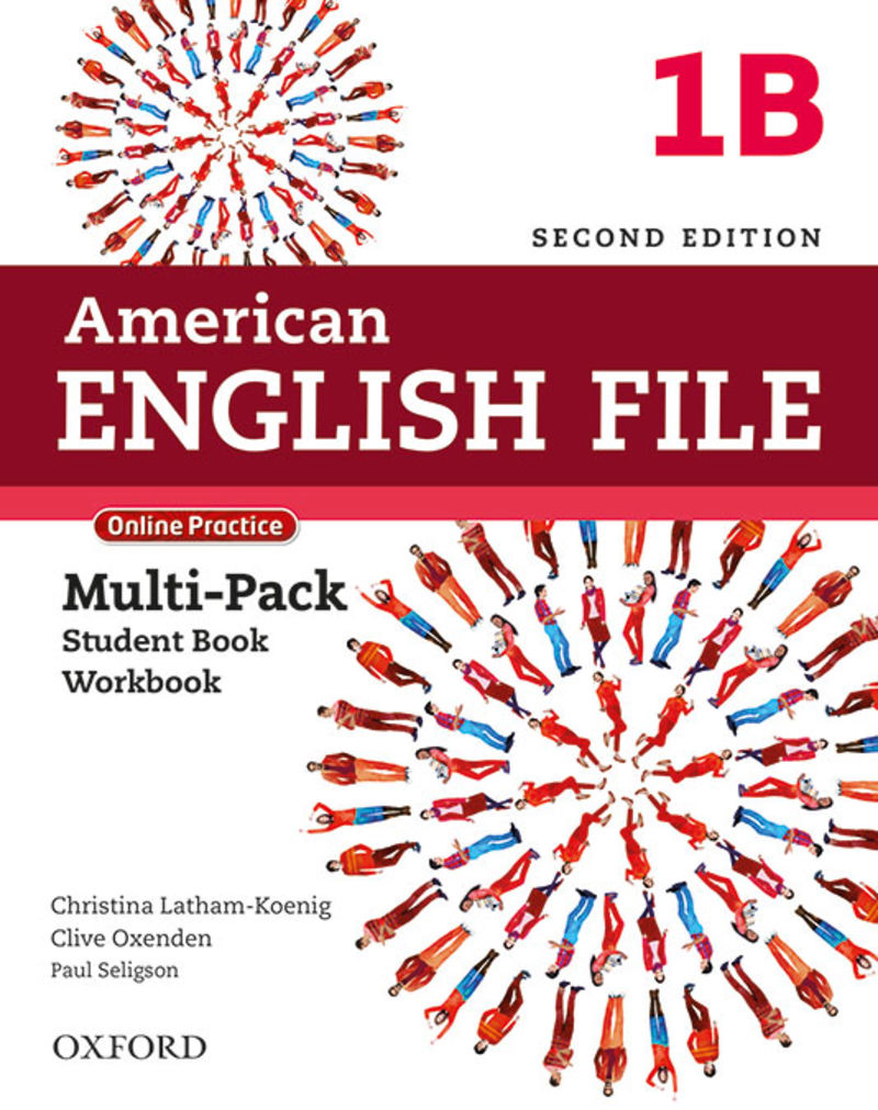 (2 ED) AMERICAN ENGLISH FILE 1 MULPK B
