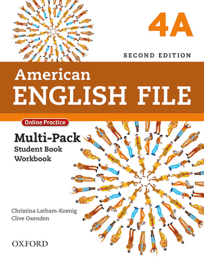 (2 ED) AMERICAN ENGLISH FILE 4 MULTIPACK A