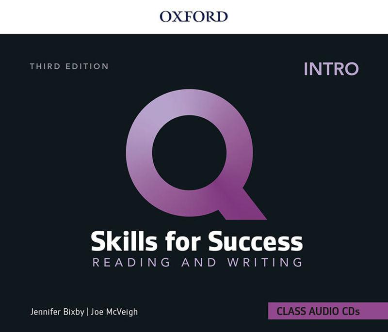 (3 ED) Q SKILLS INTRO R&W CLASS CD