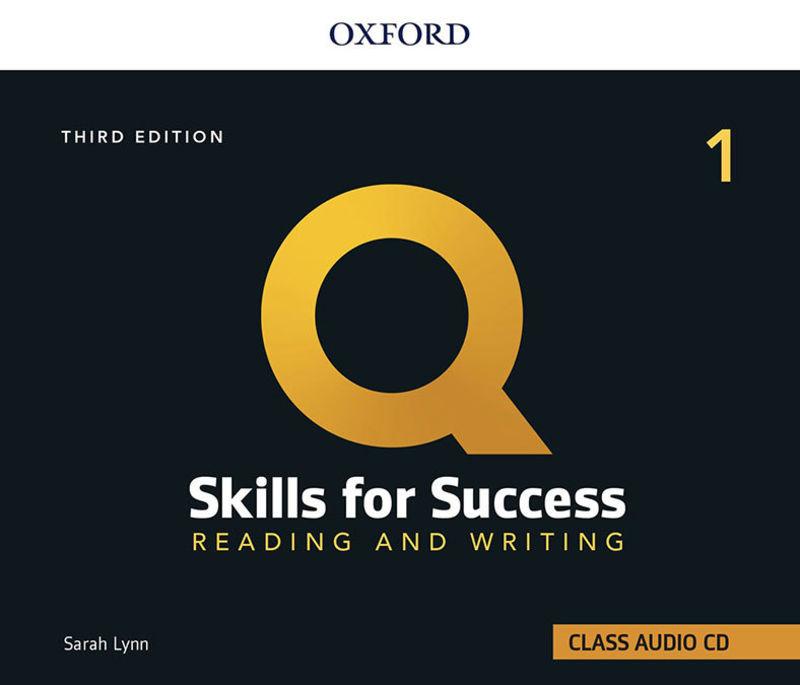 (3 ED) Q SKILLS 1 R&W CLASS CD