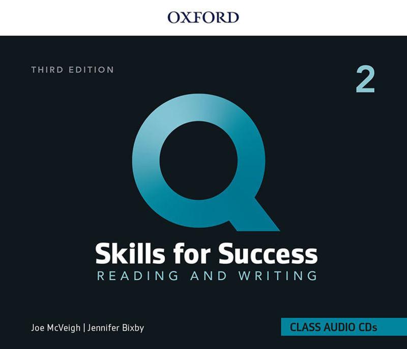 (3 ED) Q SKILLS 2 R&W CLASS CD