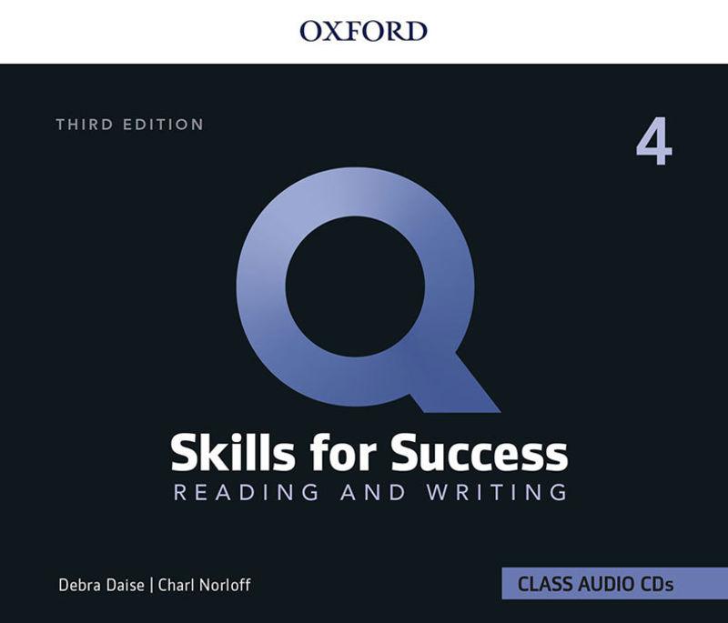 (3 ED) Q SKILLS 4 R&W CLASS CD