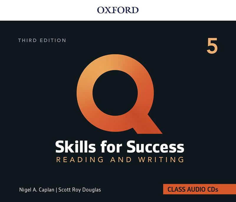 (3 ED) Q SKILLS 5 R&W CLASS CD