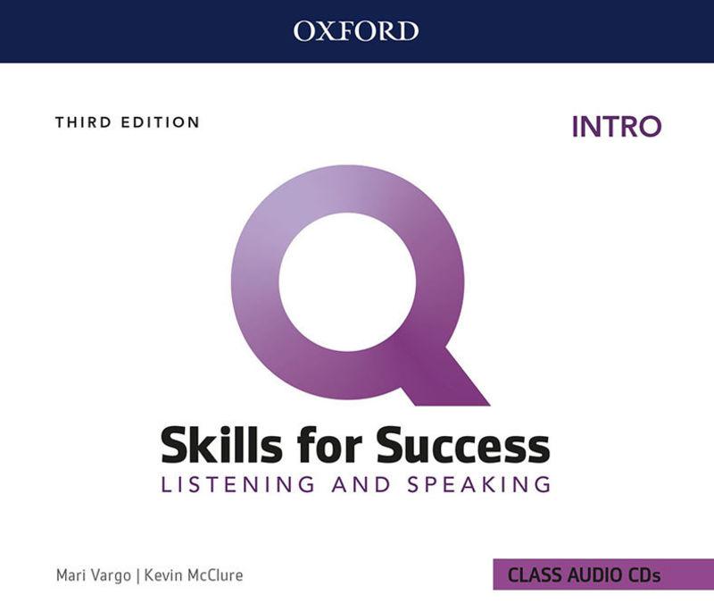 (3 ED) Q SKILLS INTRO L&S CLASS CD (3)