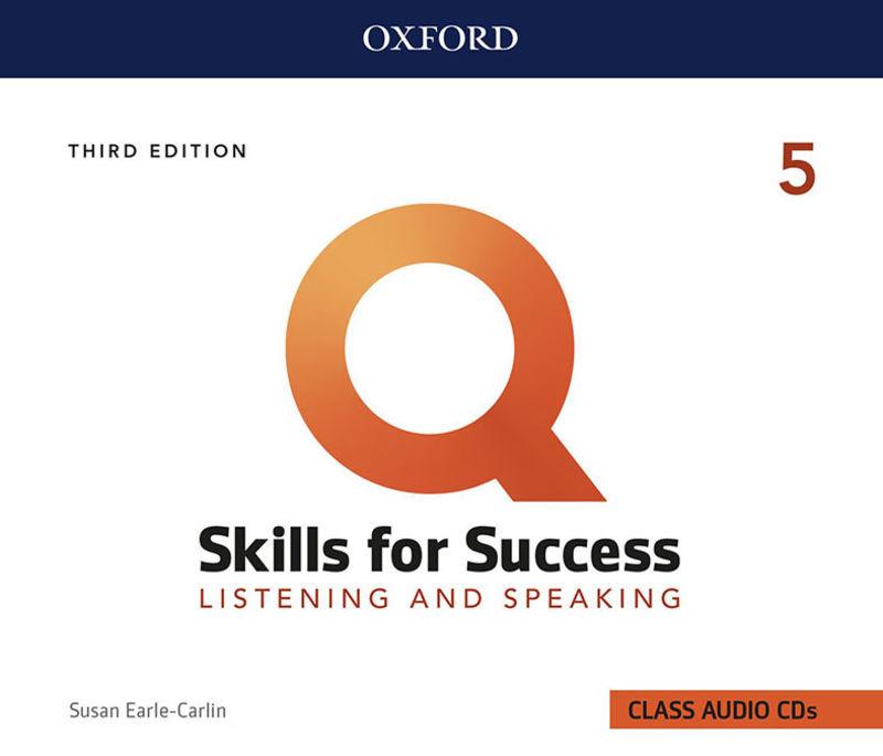 (3 ED) Q SKILLS 5 L&S CLASS CD (5)
