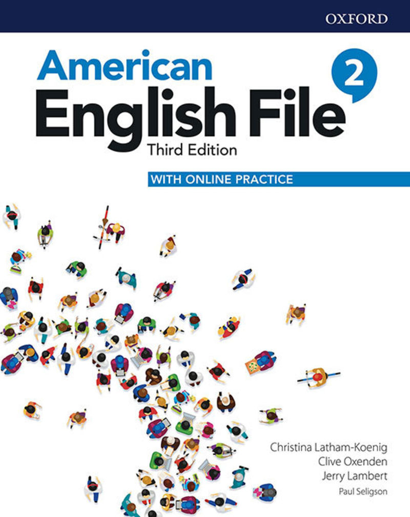 (3 ED) AMERICAN ENGLISH FILE 2 PACK