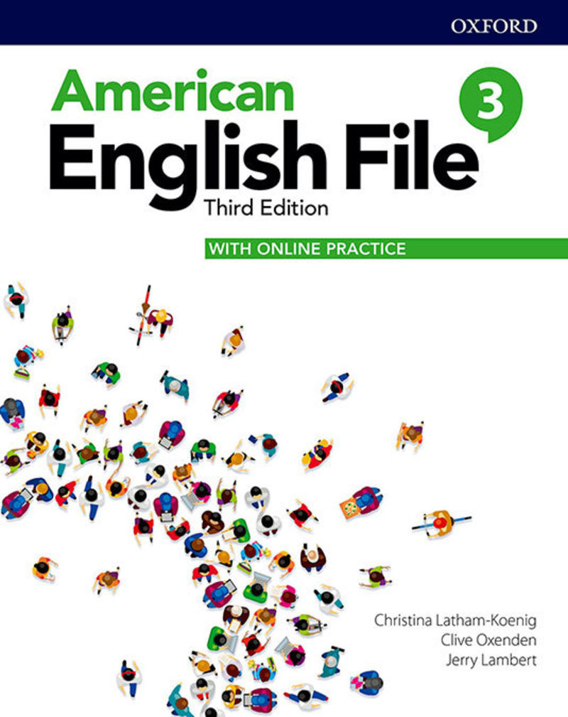 (3 ED) AMERICAN ENGLISH FILE 3 PACK