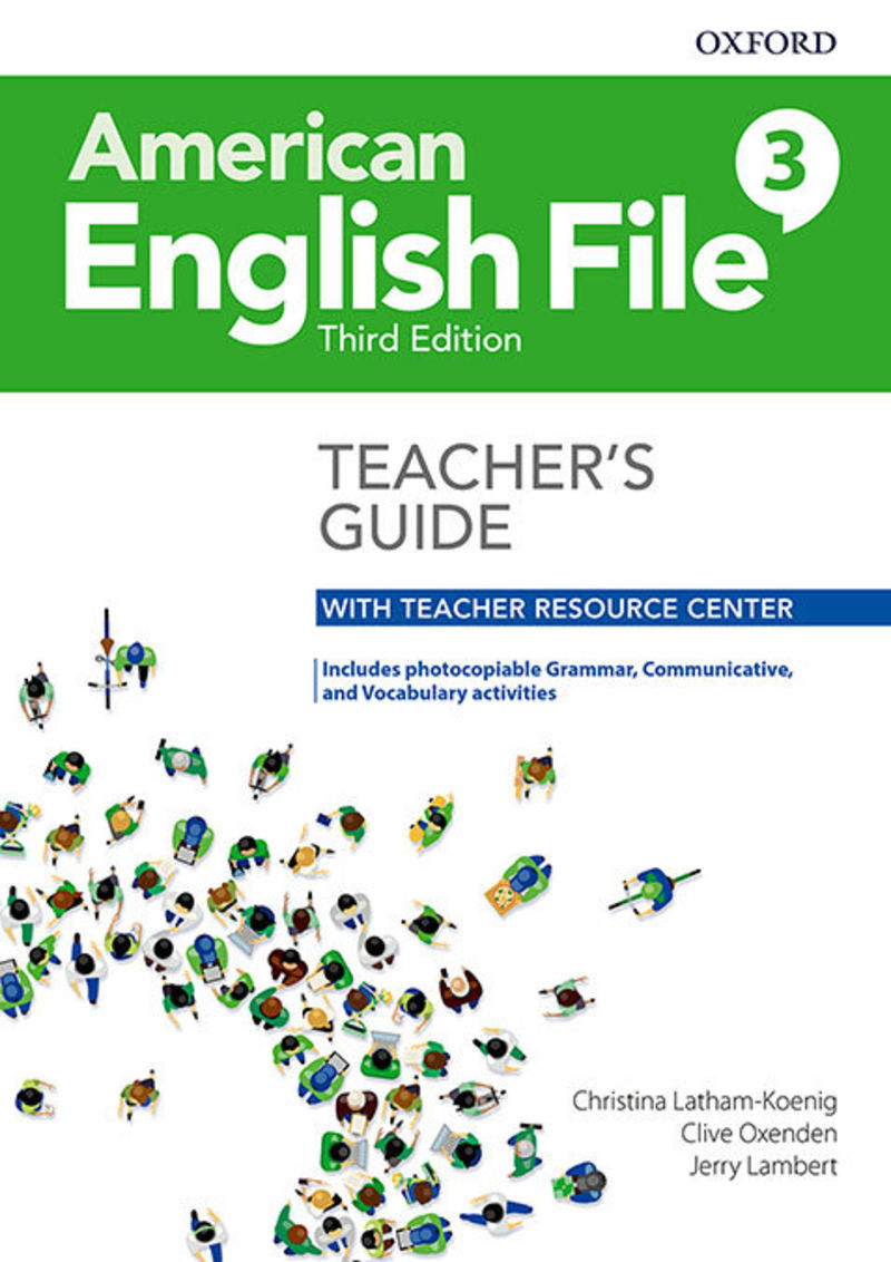 (3 ED) AMERICAN ENGLISH FILE TCH 3 PACK