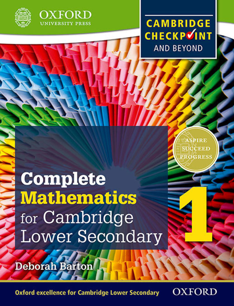 OXF INTERNATIONAL MATHS FOR CAMBRIDGE SECONDARY 1