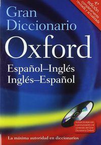 (4 ED) GRAN DICC. OXF ESP / ING - ING / ESP