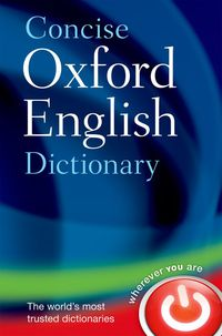 OXF CONCISE ENGLISH DICT (12TH ED)