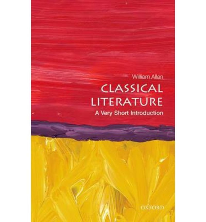 CLASSICAL LITERATURA: A VERY SHORT INTRO - SERVICIO DIRECTO